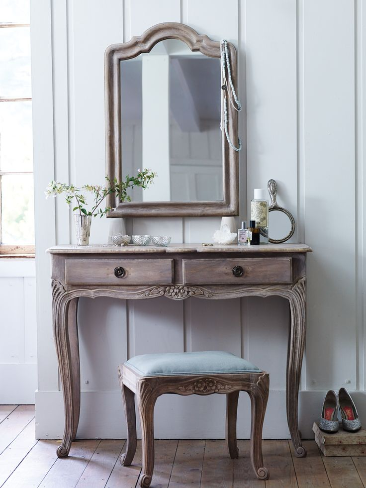 Carved Wooden Dressing Table