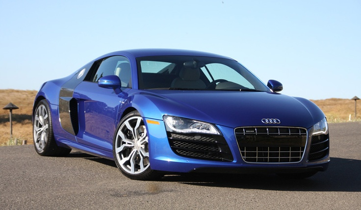 Audi R8: Top Speed – 301 kmph; Power – 420bhp; Torque – 429Nm; Price – INR 1,24,30,000