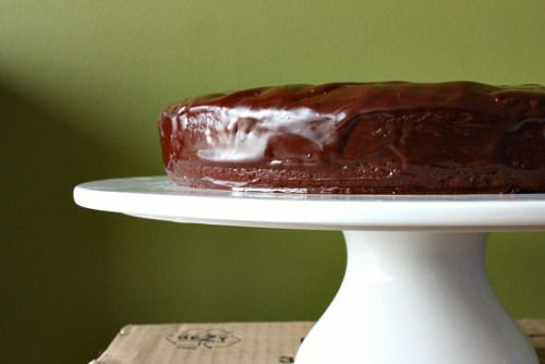Chocolate cake with jack Daniels