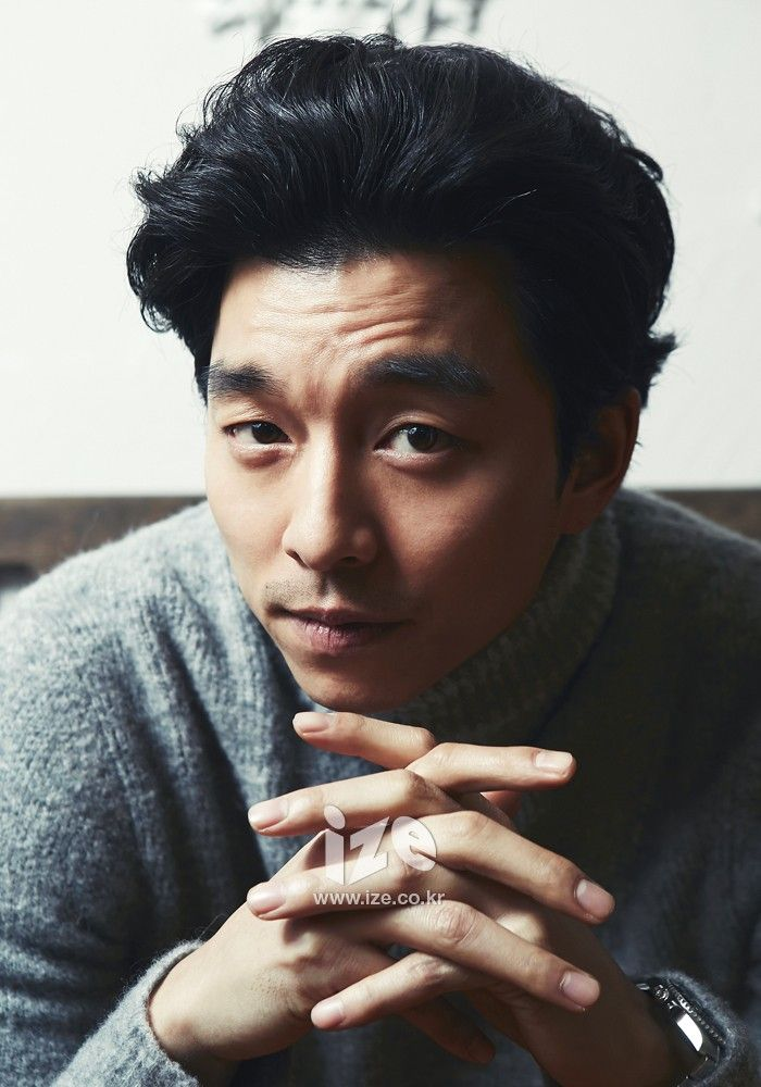 Gong Yoo - ize Magazine December Issue '13
