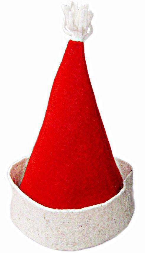 Шапка для сауны «Колпак Деда Мороза» OBSI