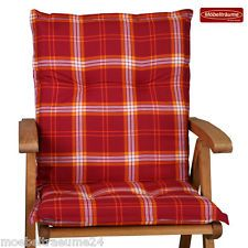 niedriglehner stuhlauflagen | eBay
