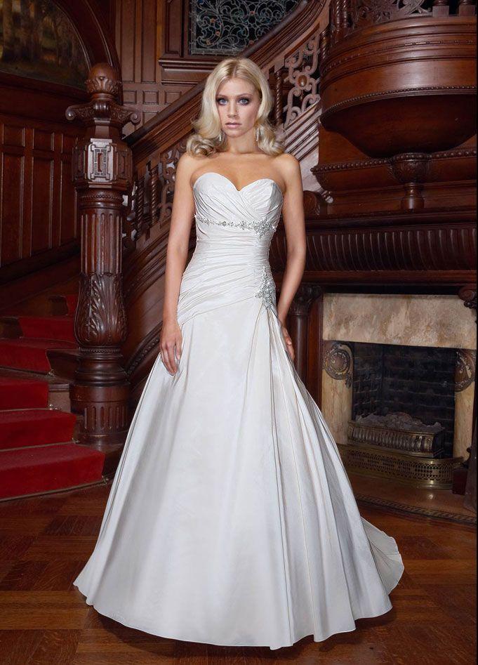 210 best Wedding Dress images on Pinterest   Gown wedding ...