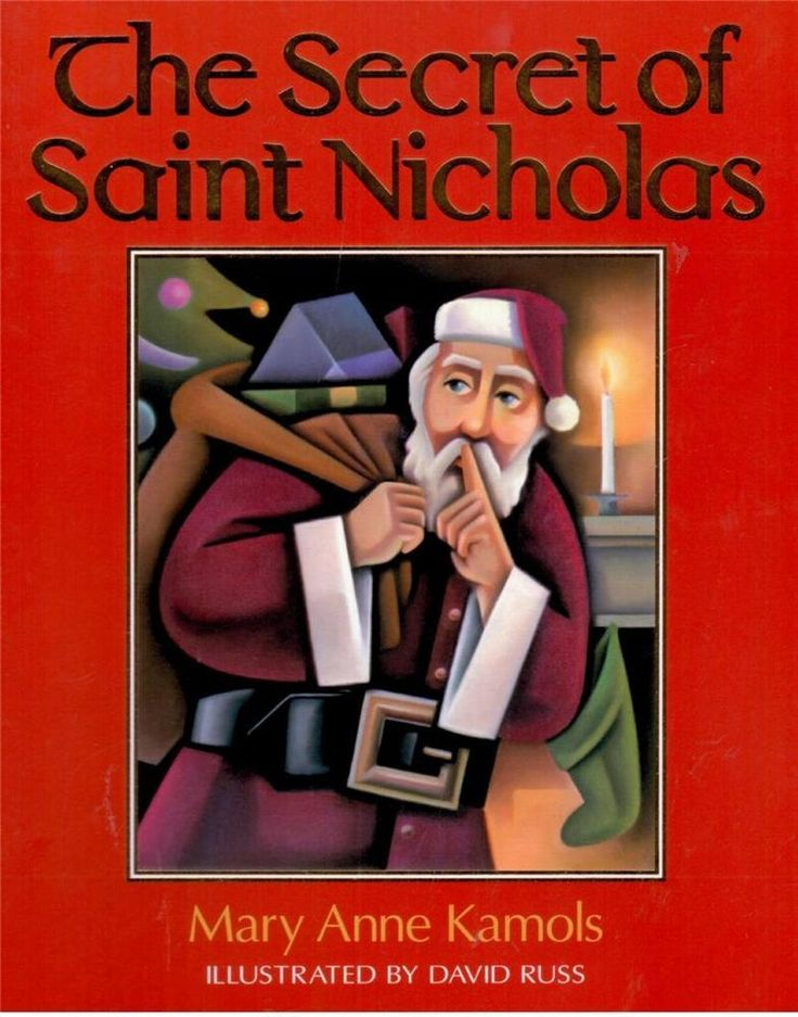 The Secret of Saint Nicholas by Mary Anne Kamols and David Russ -  NEW - Visit our bookstore for a great range of new and second hand books for kids and teens!