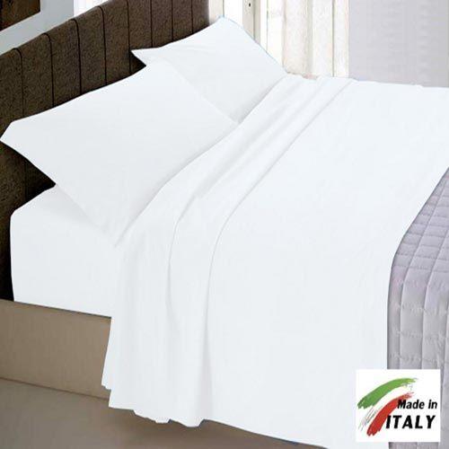 Coordinabili letto : Personalizza la tua camera anche in Inverno sciegliendo Lenzuola in Flanella BIANCHE
