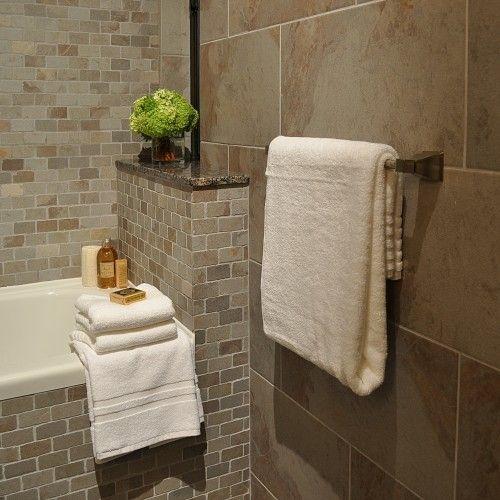contrast between large tiles smaller 39 brick like 39 tiles. Black Bedroom Furniture Sets. Home Design Ideas