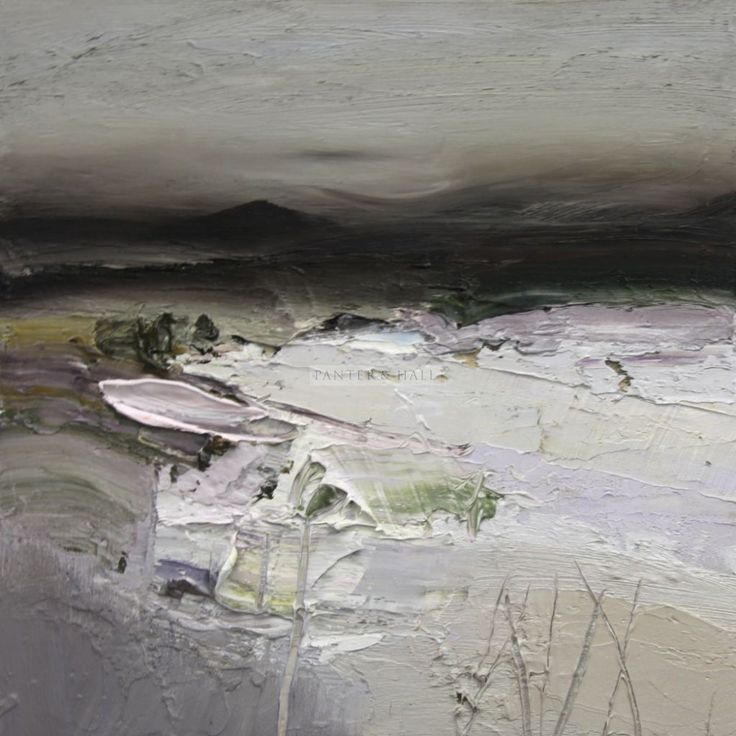 Chris Bushe | RSW Winter's Heartland oil on board