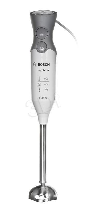 BLENDER RĘCZNY BOSCH MSM66155 (600W / BIAŁO-SZARY)