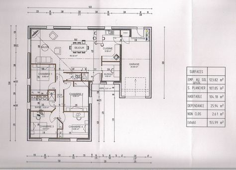 [Plan de maison][] Plans de maisons en L ou en V - St Philbert De Bouaine (Vendee - 85) - octobre 2013