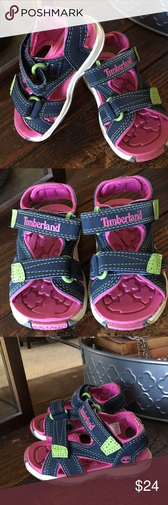 NWOT Timberland Velcro Sandals NWOT Timberland Adventure Seeker Velcro Sandals for Toddlers. Super adorable.   From Website:  •Lightweight, water-friendly comfort •Two velcro straps - adjustable for fit and feel •Sanitized® anti-microbial treatment on footbed prevents odors / keeps their feet fresh •EVA footbed for shock absorption, comfort and lightweight cushioning •Non-marking rubber outsole for lightweight flexibility and traction   🚭Nonsmoking Home. ✅We have a Morkie. Timberland Shoes…