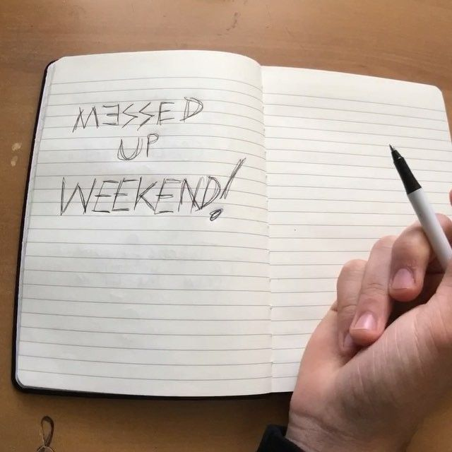 """ETHAN'S Favourite song from our new EP is """"MESSED UP WEEKEND""""! What's yours?!"""