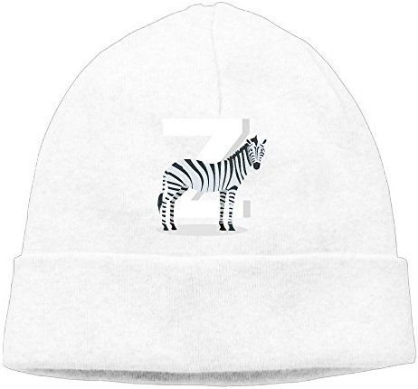 0df082a38d5 Ddgf1 Cap Zebra Cartoon Men Winter Knit Beanie Hat Skull Cap