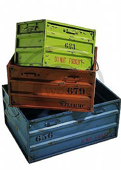 DCSE metal, varnished, used look boxes. Vintage decoration. Διακοσμητικά παλαιωμένα κουτιά