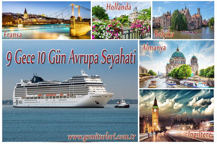 126 TL'den Başlayan Taksitlerde Avrupa Seyahati Gemi İle Tatil Ayrıcalıktır.  Detaylı Bilgi İçin; 0850 460 88 11  veya Linkteki Formu Doldurun Sizi Arayalım.  http://www.gemiturlari.com.tr/bilgi-formu/  http://www.gemiturlari.com.tr/msc-magnifica-ile-almanya-ingiltere-fransa-belcika-hollanda-9-gece-10-gun/