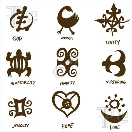 ancient symbols illustration of an image of adinkra symbols tattoos pinterest an. Black Bedroom Furniture Sets. Home Design Ideas