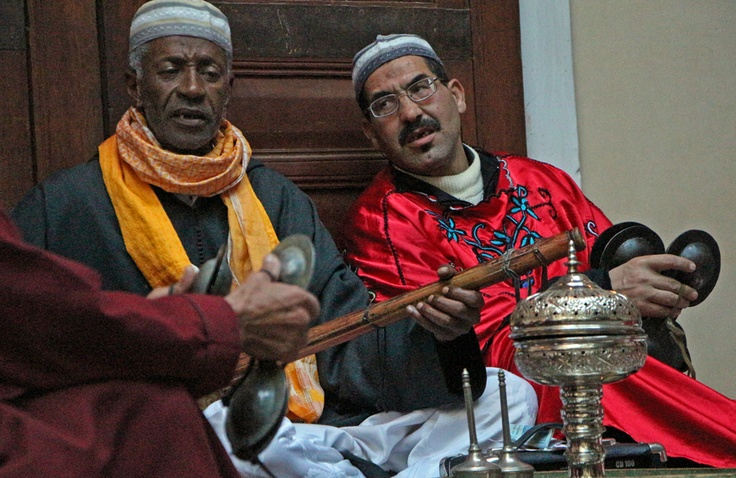 a taste of what was another wonderful musical event at Riad Zany in Fez