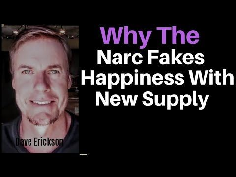 Why The Narcissist Fakes Happiness With The New Supply