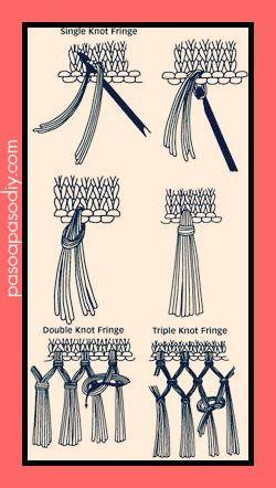 cómo hacer flecos - Paso a Paso