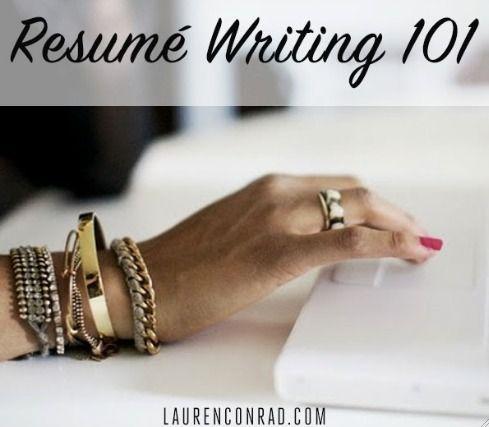 resume writing 101 - Ozilalmanoof