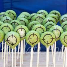 Image result for nerf cake pops