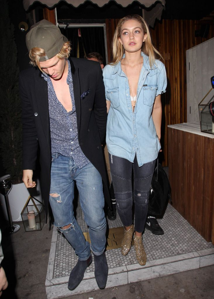 Hot Couple Cody Simpson & Gigi Hadid + Kendall Jenner Nice Thigh Gap & Cara Delevingne Out At The Nice Guy - http://oceanup.com/2014/11/27/hot-couple-cody-simpson-gigi-hadid-kendall-jenner-nice-thigh-gap-cara-delevingne-out-at-the-nice-guy/