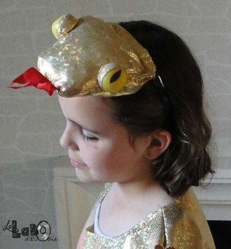 DIY : costume de serpent  Snake costume, easy to do.