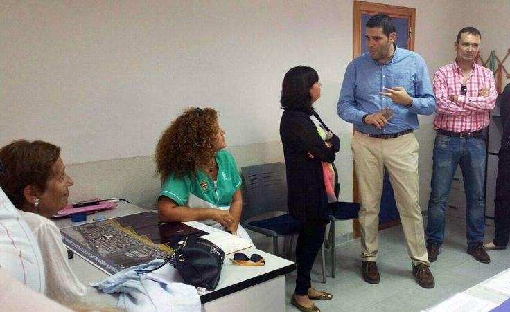 Visita del concejal Juan José Alonso