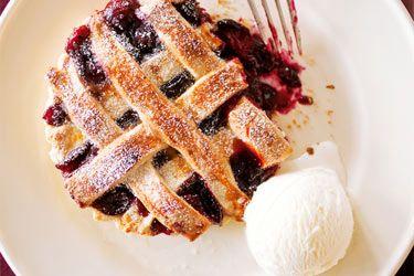 Blueberry Rhubarb Pies