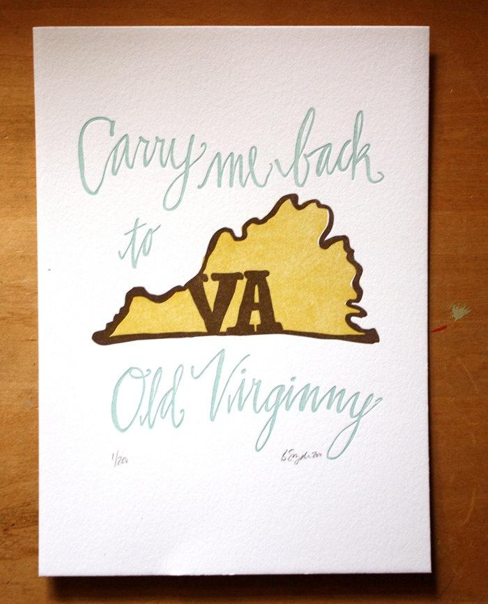 I miss Virginia: Baby Girl