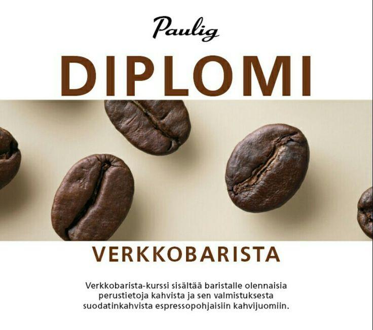 Työn rikastuttamista ja ammattitaidon kehittämistä. Pauligin Barista-kahvikurssi suoritettu! Järvi-Saimaan Palveluiden ensimmäinen barista Essi haastaa muutkin osallistumaan.