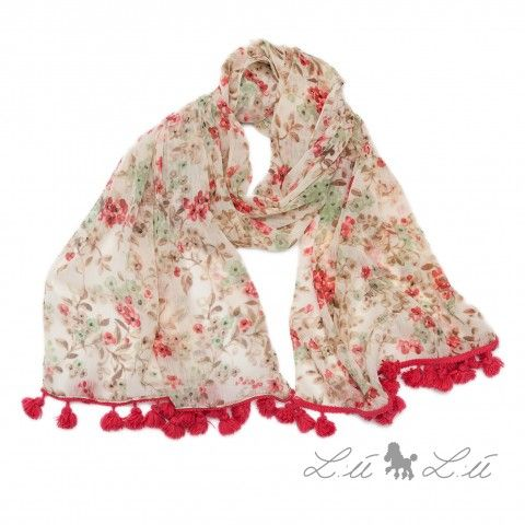 Lù Lù by #missgrant FLOWERED FOULARD. Sale 50% off Spring&Summer Collection! #discount