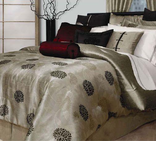 Luxury bedding.