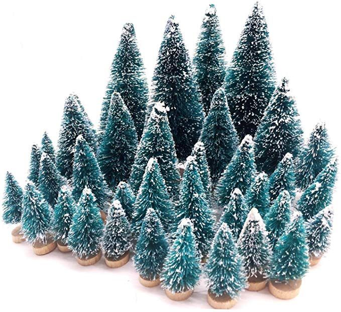 Small Flocked Artificial Christmas Tree Snow