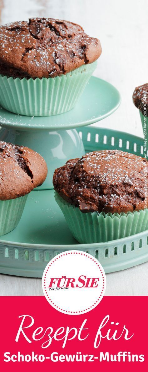 Schoko-Gewürz-Muffins – #SchokoGewürzMuffins