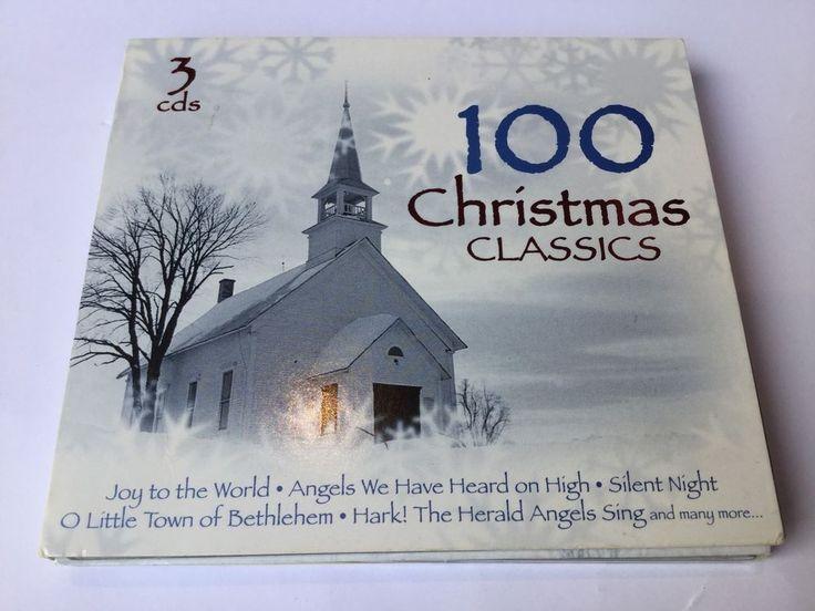 100 Christmas Classics 3 CD Set Madacy Christian Music 2005 Carols Hymns in Music, CDs & DVDs | eBay!