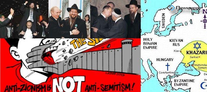 Boże ! czemuś zesłał na Rosję Syjonistów i Chazarów !
