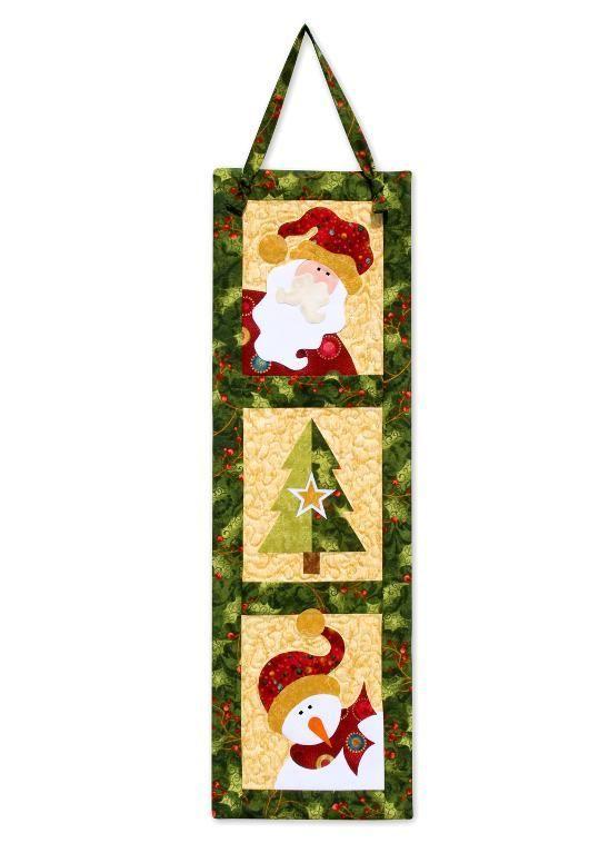 Christmas Trio PDF pattern on Craftsy!