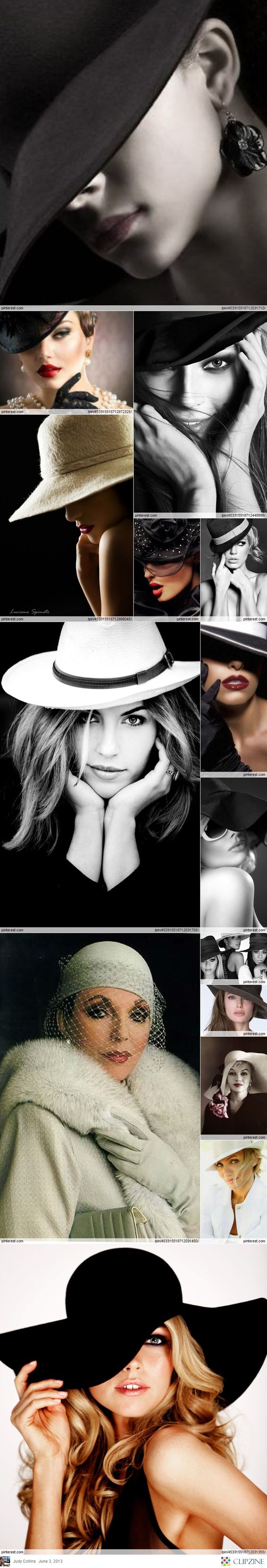 Hat Sassy -- Love this...I can aspire to all of these looks