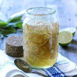 Lime Marmalade / Limemarmelad   (Recipe in Swedish)