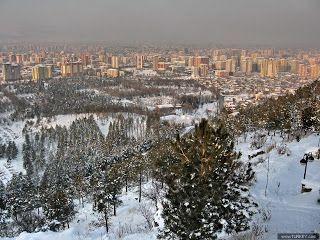 Beştepelerden Kayseri Kış Manzarası