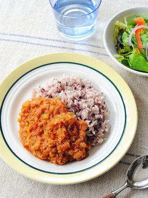 トマトとツナのダイエットカレーレシピ