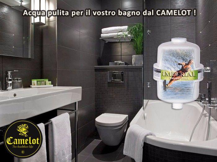 Filtro per la doccia Imperial Shower. Filtro acqua per il bagno nella doccia.