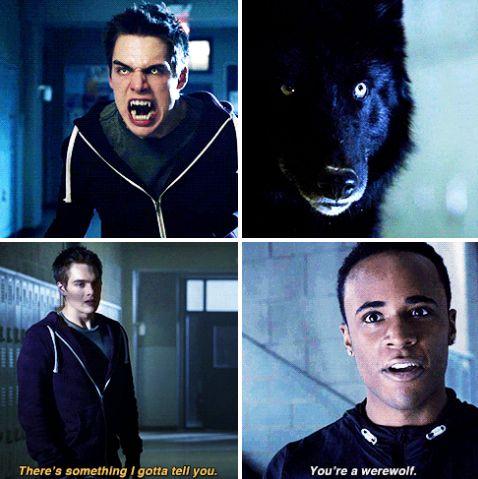 #TeenWolf5x02. Mason seriously reminds me of Stiles when Scott first got bit in season 1