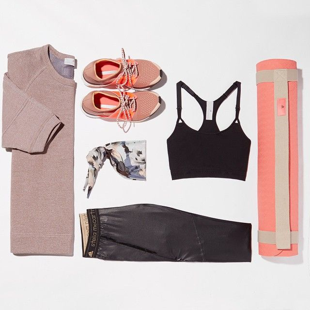Pinterest @esib123 8. Anything Stella McCartney for Adidas!  ----  FIT KIT! Adidas x Stella McCartney #NETASPORTER