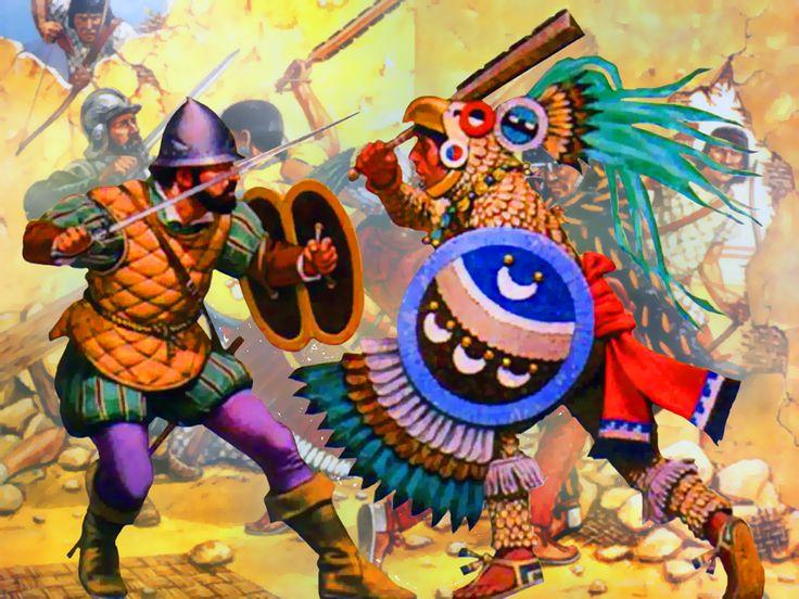 Warlike aztecs