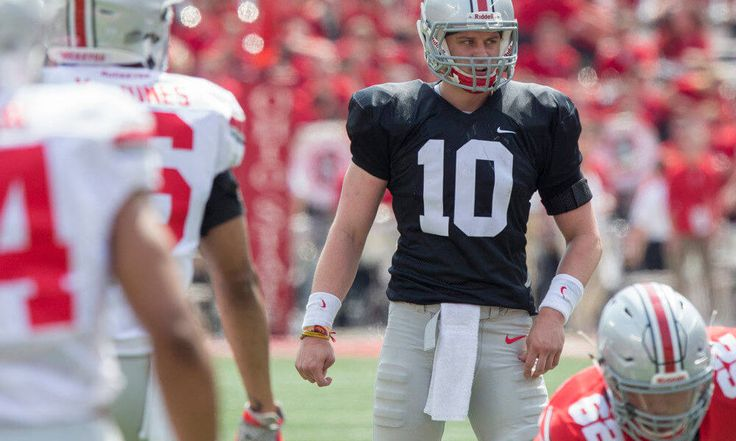 QB depth gives Ohio State a duel to watch — in 2018 = There's a quarterback controversy at the Ohio State University — at backup quarterback. Make no mistake, Buckeye senior J.T. Barrett, the target of much fan criticism last season, is entrenched as the starter. He didn't show much — nor did he have to — in Saturday's Scarlet and Gray spring game. When Joe Burrow and Dwayne Haskins took the field, it was…..