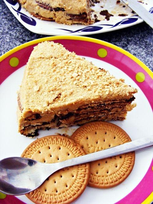 Portuguese Food: Bolo de Bolacha/ Biscuit cake                                                                                                                                                                                 Mais