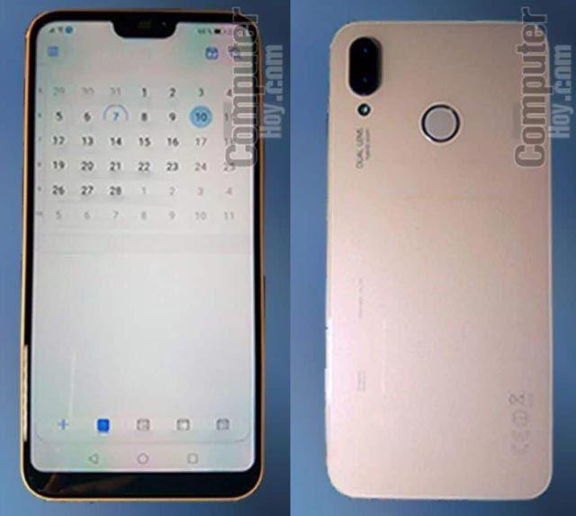 صور واقعية مسربة تظهر تصميم هاتف Huawei P20 Lite المرتقب Huawei Smartphone Samsung Galaxy Phone