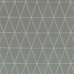 Voksduk lys grå m grafisk mønster
