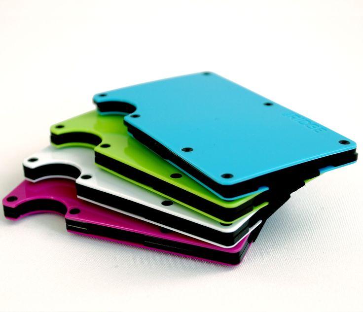 The Ridge 2.0 Color http://www.starterstore.de/produkte-starterstore/slim-wallets/the-ridge-2-0-color-slim-wallet.html